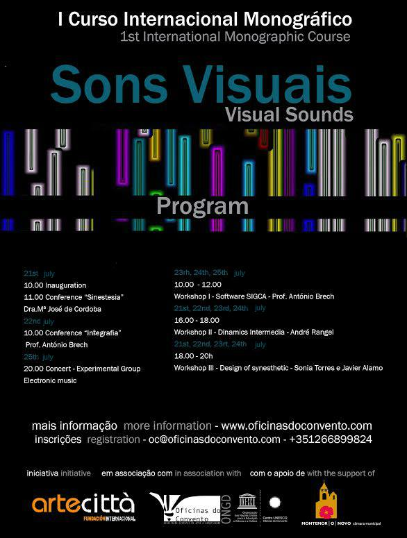 curso sonidos visualtes portugal
