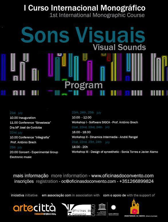 curso sonidos visualtes portugal